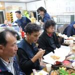 45期決算会議食事1IMG_5176